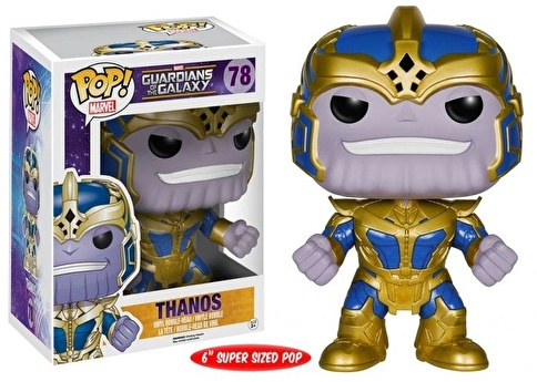 "Funko Marvel GOTG 6"" Thanos POP Renkli"